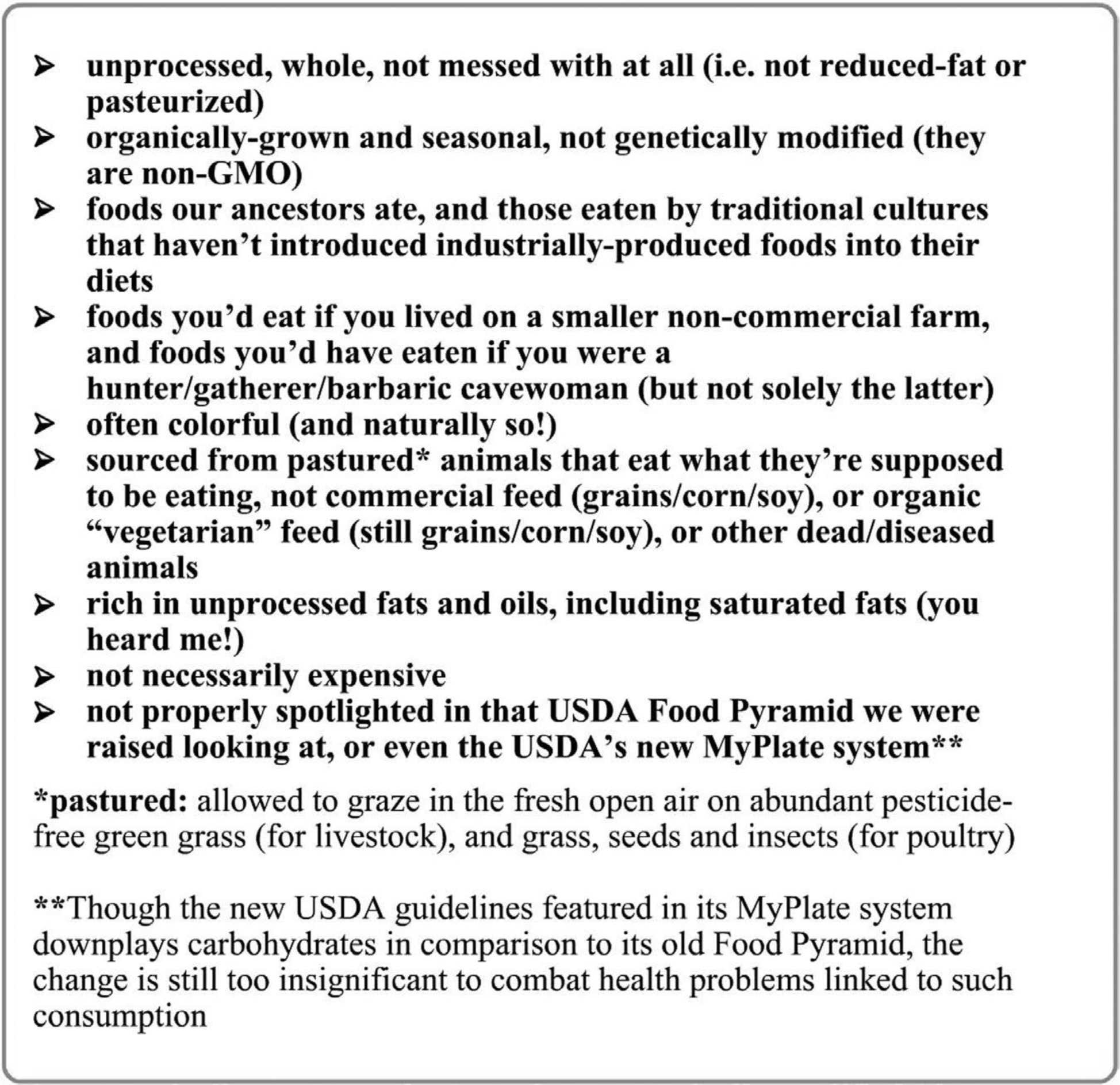 Anti-Inflammatory Nutrient-Dense Foods for the Goddess Copyright © 2013 Erika Herman, excerpted from Eat Like a Fatass, Look Like a Goddess: The Untold Story of Healthy Foods. Any and all use of this image without crediting its author is strictly prohibited.